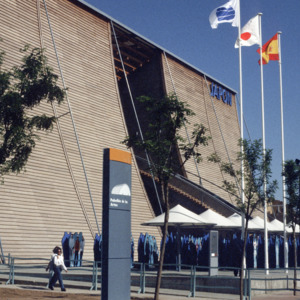 Pavilion of Japan at Seville Expo '92