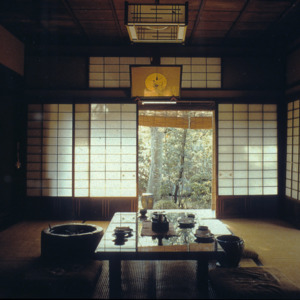 Interior of a Japanese House