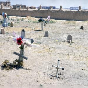 San Estevan del Rey Mission Church cemeteries