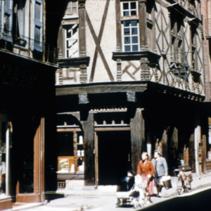 Rue des Pénitents and Rue Timbal Street Intersection